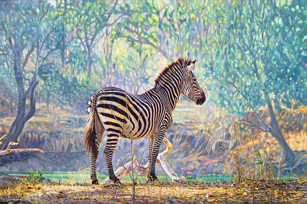 Zebra Painting - Respite